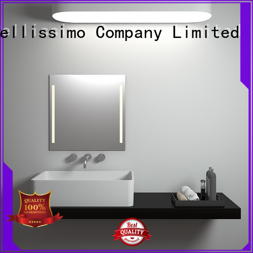 countertop basin rectangle design wash Bellissimo Brand company